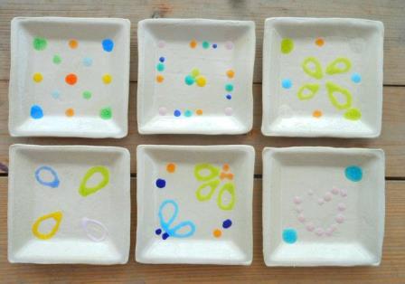 陶芸体験者の作品が焼きあがりました。