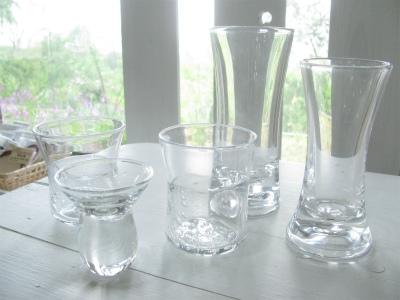 ガラスの器入荷