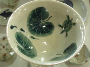 茶碗(亀)