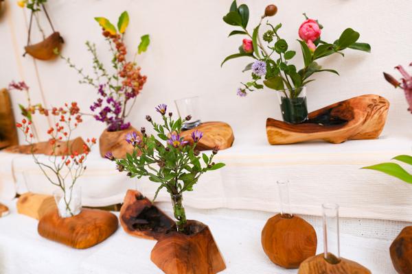 のんびりぼっこ広場 北の森工房の花器