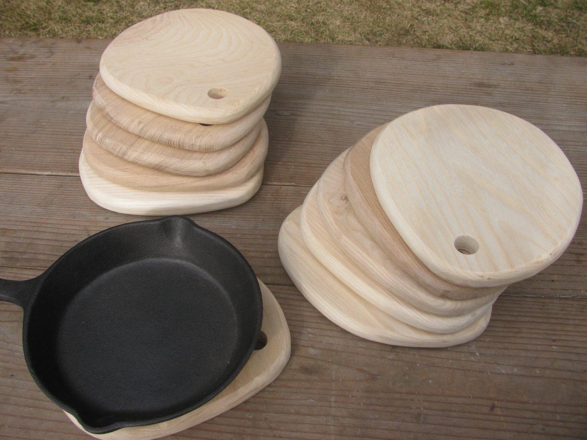 食卓を楽しく、鍋敷き