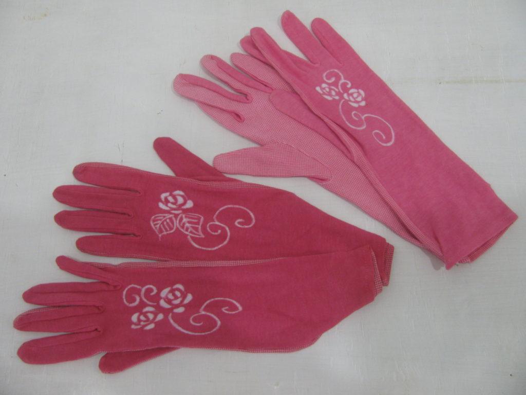 ローケツ染め 滑り止め付き手袋