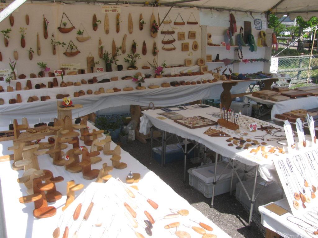 2018年益子春の陶器市 のんびりぼっこ広場ブース
