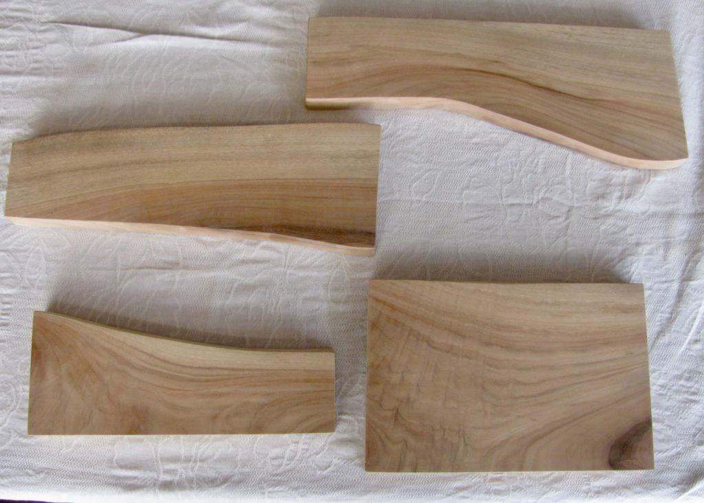 自然木の飾り板:桂