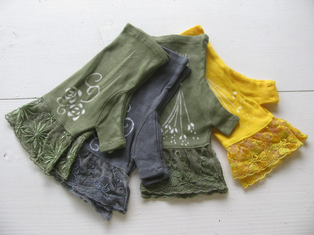 チュールレース手袋