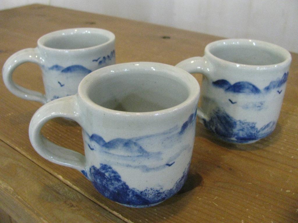 山のマグカップ