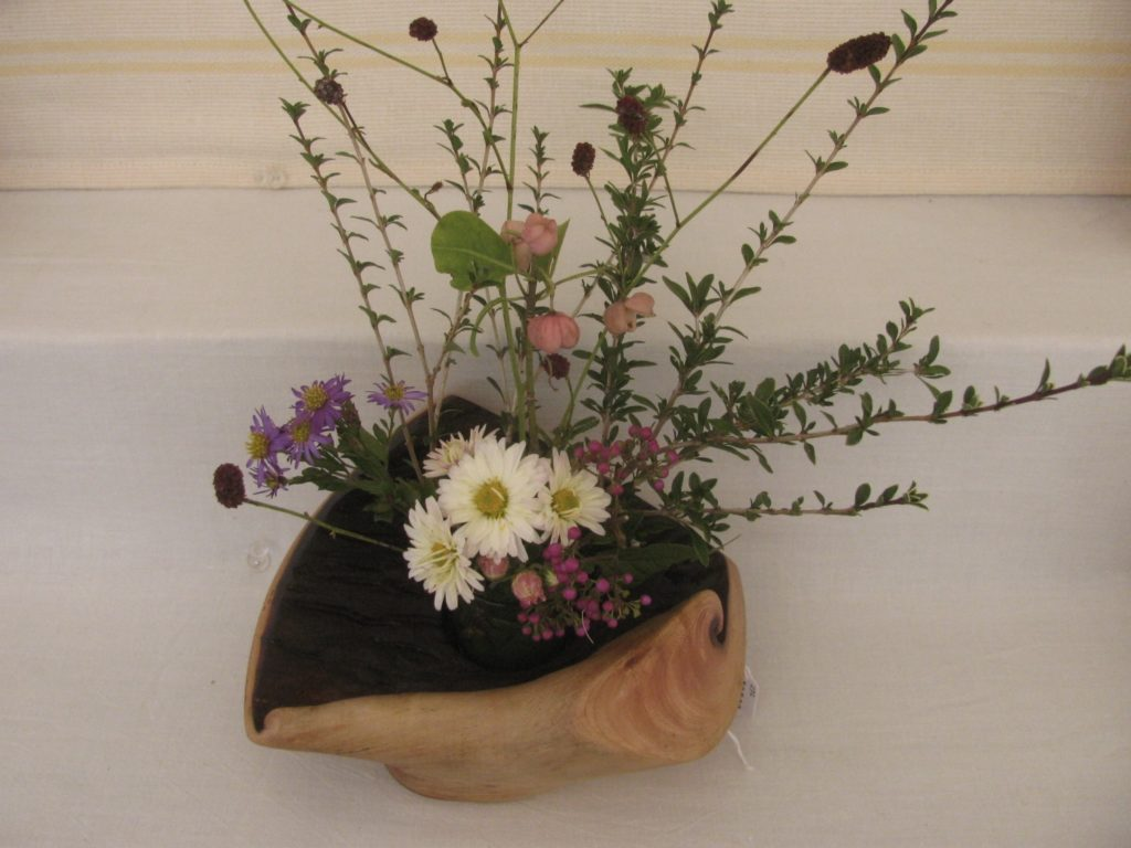 自然木洞の花器