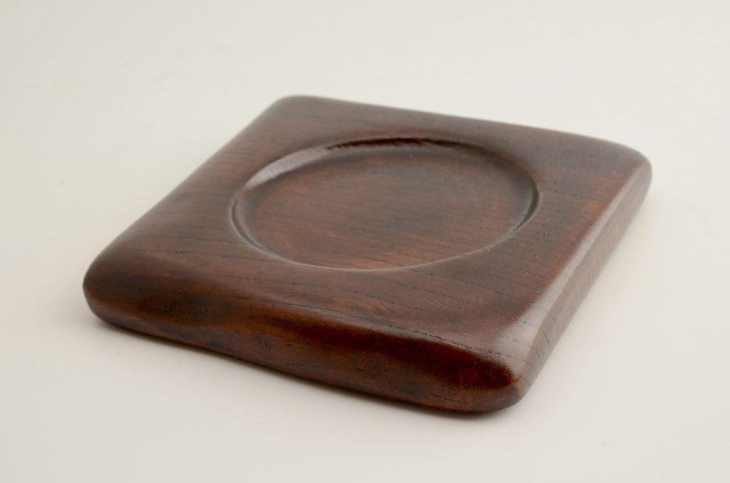 自然木の漆小皿