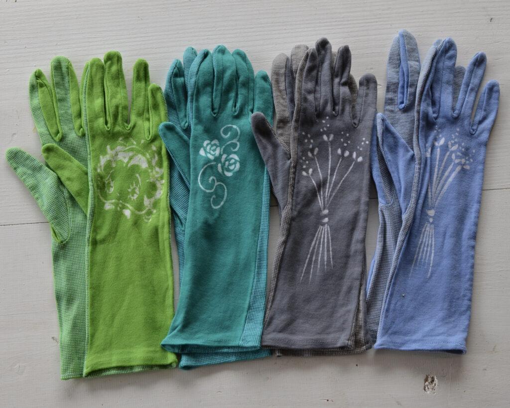 滑り止め付き手袋   900円