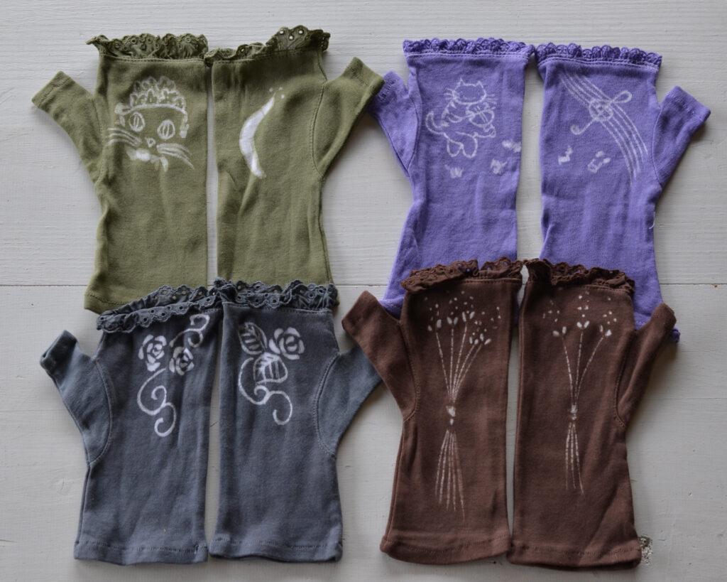綿レース手袋 1,300円