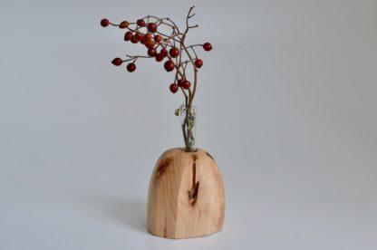 自然木の置き一輪挿し(丸面)