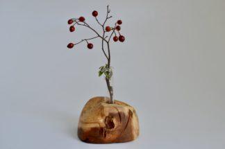 自然木の置き一輪挿し(自然)