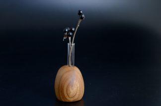 自然木の置き一輪挿し(角)