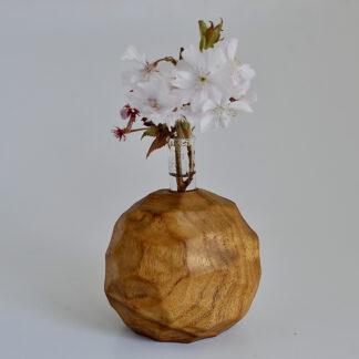 自然木の一輪挿し:置き型