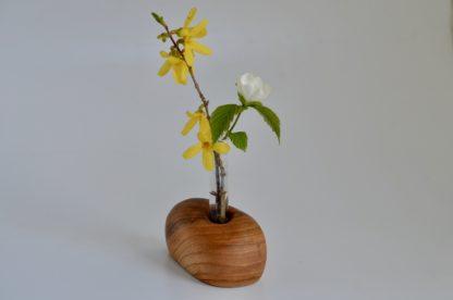 自然木の置き一輪挿し(丸長)