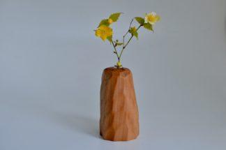 自然木の置き一輪挿し(面取り長)