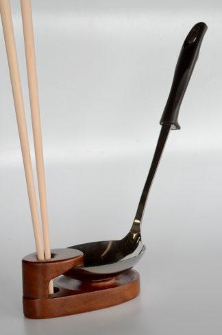 自然木:お玉&菜箸スタンド