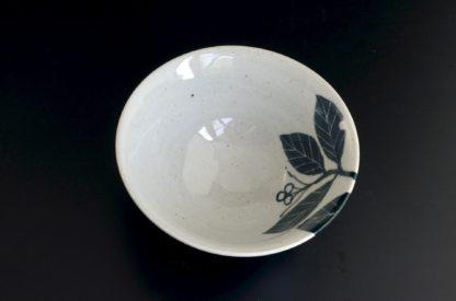 草紋の飯碗(G):五山焼