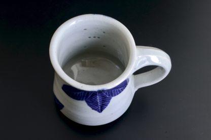 葉紋星の見えるマグカップ:五山焼