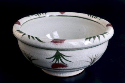 あざみ玉鉢:五山焼