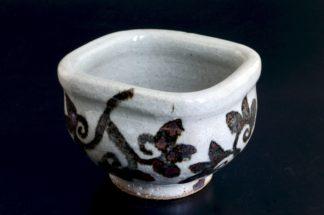 納豆鉢(鉄):五山焼