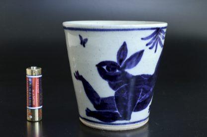 兎のコップ:五山焼