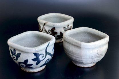 納豆鉢:五山焼