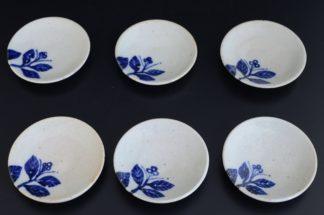 梅皿(6枚組):五山焼