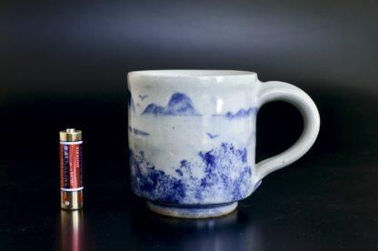 五山のマグカップ:五山焼