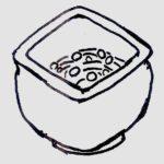 五山焼:納豆鉢