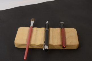 自然木のペン皿 栓
