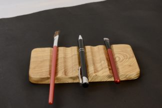 自然木のペン皿 梻