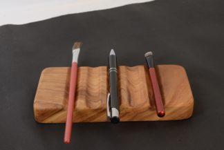 自然木のペン皿 赤欅