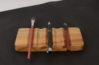 自然木のペン皿 欅