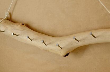 自然木のアクセサリーフック
