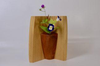 自然木の花器 :コーナー型