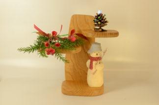 自然木の飾り棚(ミニ)
