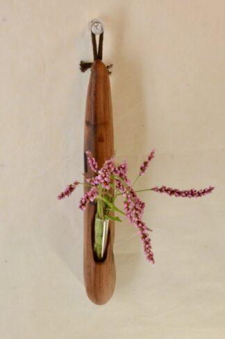 自然木の掛け一輪挿し:ミニ