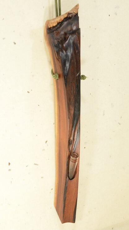 自然木の花器 :壁掛け花