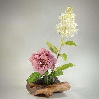 自然木の花器:ウロ