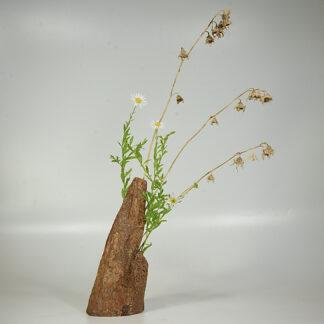 自然木の花器:置き型