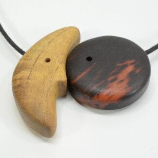 自然木のペンダント:音色の良い