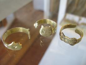 刻印プレート指輪